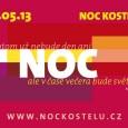 V pátek 24. května 2013 opět proběhne oblíbená Noc kostelů. V Brně nás čeká bohatý program, z něhož jsme usilovně vybírali to nejlepší a nejzajímavější. Proto si Tě dovolujeme pozvat […]